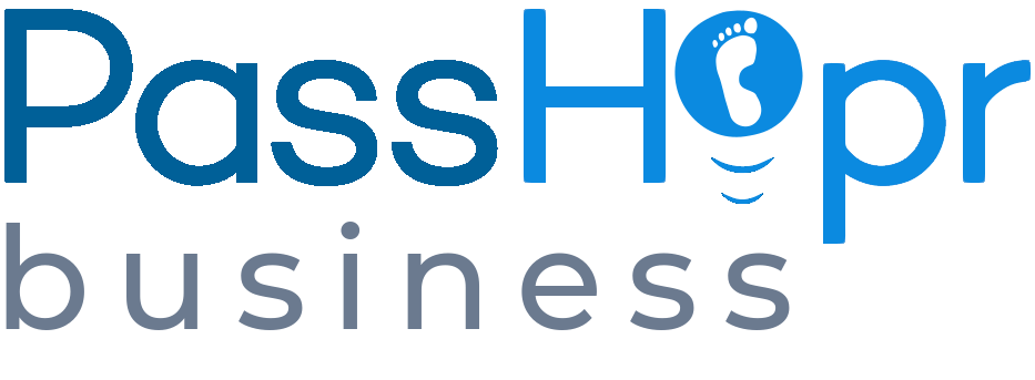 PassHopr logo - next generation authentication-as-a-service